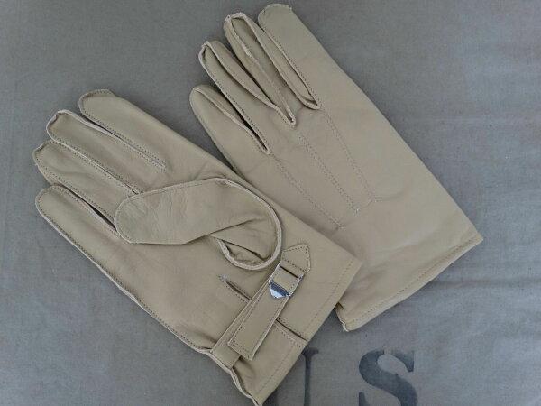 US Army Para Leather Gloves Paratrooper Leder Handschuhe L / 10 USMC Marines WK2
