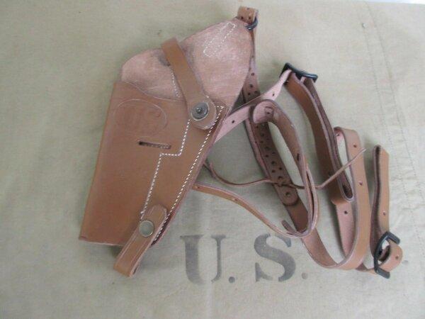 US Army Schulterholster Lederholster M7 Holster Uniformen Jacken Army WK2 WWII L