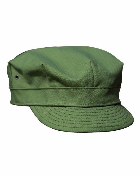 US Army WWII HBT Feldmütze Field cap USMC Vietnam Gr M Vietnam USMC Marines WK2