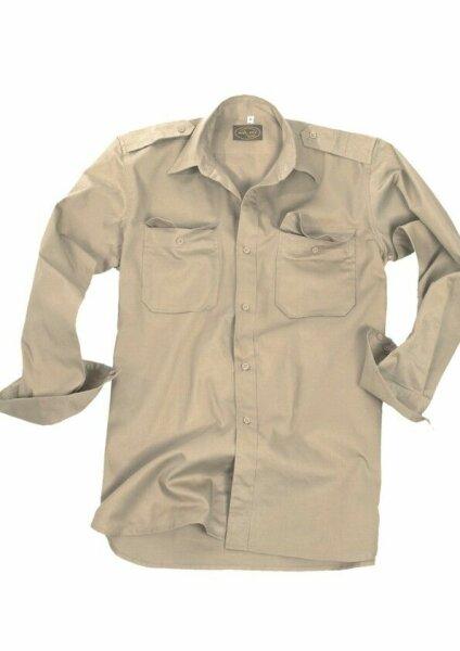 "US BDU Feldhemd R/S ""Light Tropenhemd Khaki / Coyote Gr L Army Navy Paratrooper"