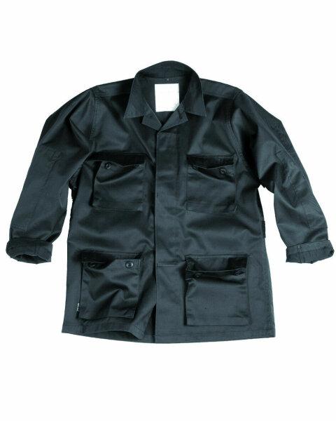 US BDU Feldjacke Light Schwarz Gr M Sommerjacke Outdoor Jacket Fieldjacket