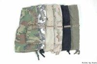 US M65 Shorts Schwarz Prewashed Paratrooper Shorts US...