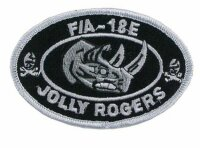 US Navy Strike Fighter Squadron Jolly Rogers F/A 18E USMC...