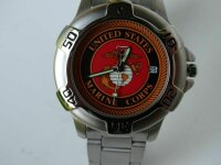 USMC Insignia Military Watch Armbanduhr US Army Marines...