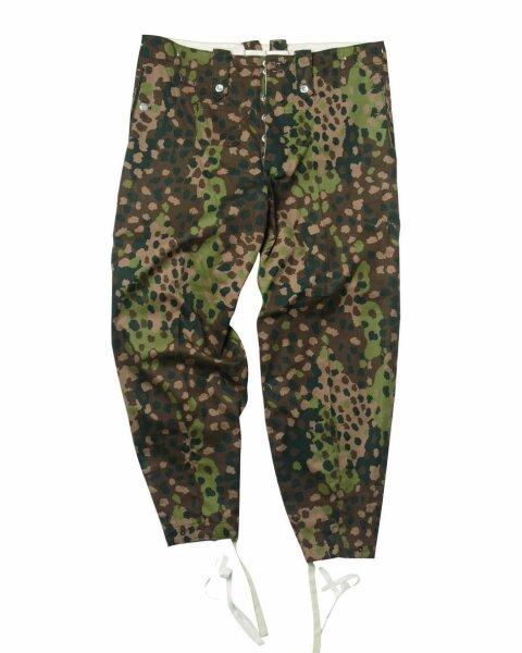Wehrmacht M44 Erbsentarn Hose Drillich Uniformhose Gr 58 Field Trouser Pea Dot