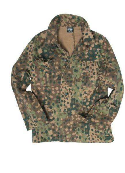 Wehrmacht M44 Erbsentarn Jacke Drillich Uniformjacke Gr 52 Field Jacket Pea Dot