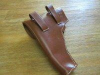 WH Pistolentasche Radom Brown Uniform Pistol Holster Leather Wehrmacht WK2 WW2