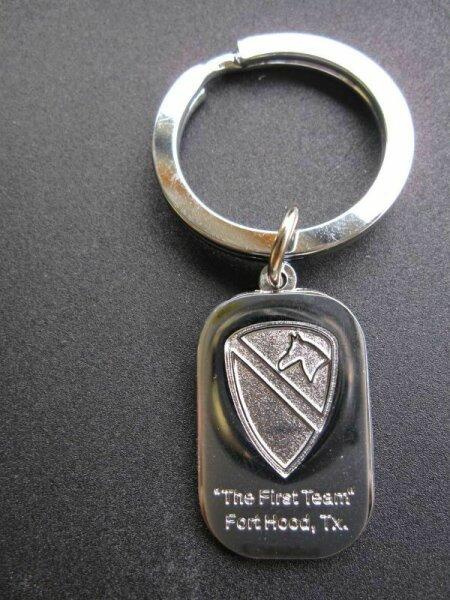 1st Cavalry Division Paratrooper US Army Schlüsselanhänger Key Ring WW2 WK2