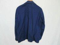 Indigo Blue Worker Jacket French Style True Vintage Jacke 50er Heritage Mechanic