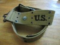 Original US Army Koppel Lochkoppel M36 Belt WK2 WWII 1942...