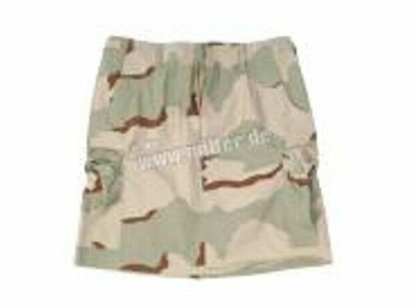 US Army Rock Women Skirt BDU Ripstop 3-color Desert Camo Gr 40 Minirock