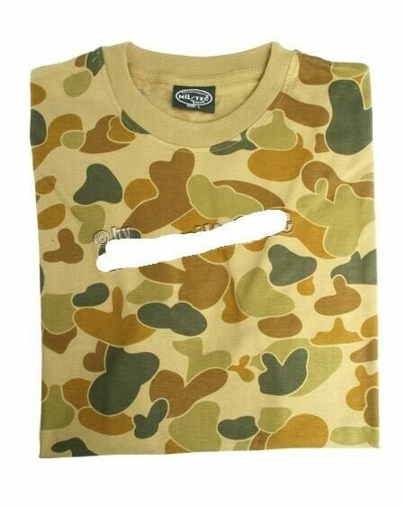 T-Shirt Aussi Tarn Duckhunter Camo US Army Pacific WK2 WWII WW2 WK2 Isaf Kfor