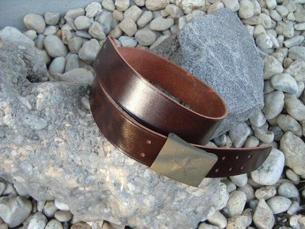 Leatherbelt Brown for Uniform