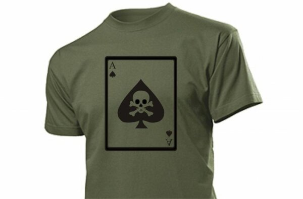 T-Shirt Deathcard Vietnam US Army 101st