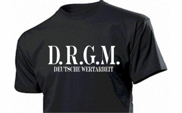 D.R.G.M. T-Shirt  Deutsche Wertarbeit