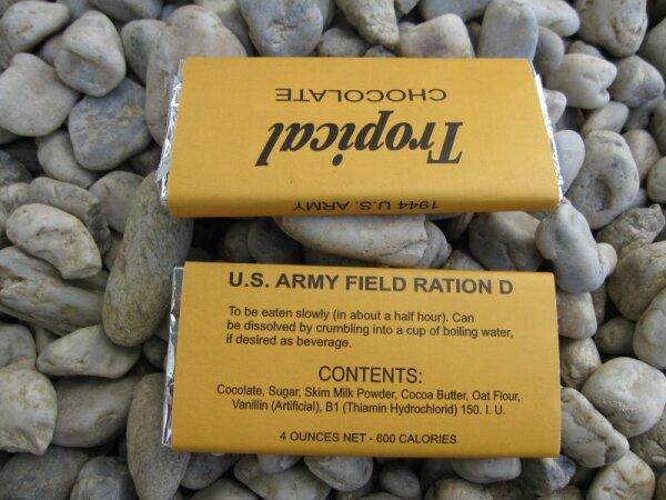 Tropical Schokolade Field Ration D 1944