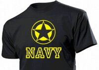 """T-Shirt """"Navy with Allied Star"""""""