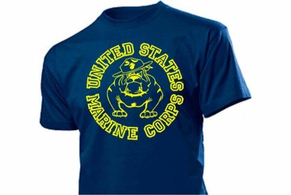 United States Marine Corps T-Shirt Bulldogge US Army