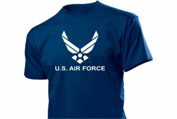 United States Us Airforce Logo T-Shirt with Wings
