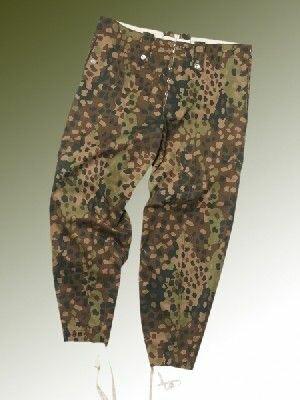 M44 Erbsentarn Hose Uniformhose aus Drillich