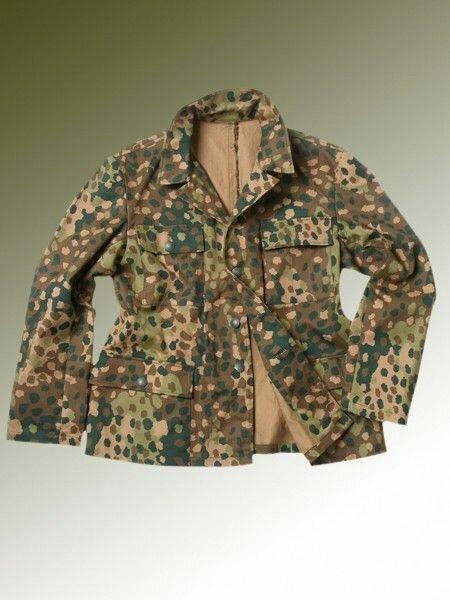 M44 Fieldjacket Erbsentarn Drillich