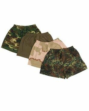 Camouflage Boxer Shorts BW Flecktarn Bundeswehr