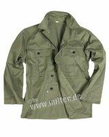 HBT Feldhemd US Army oliv