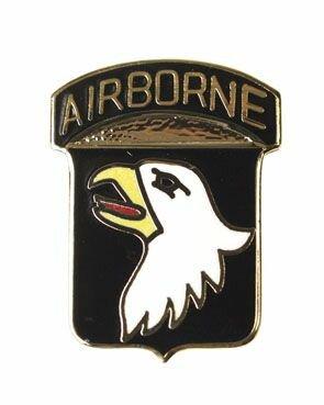 101st Airborne Division Metall Abzeichen
