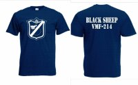 US Marines Fighter Black Sheep VMF-214 T-Shirt