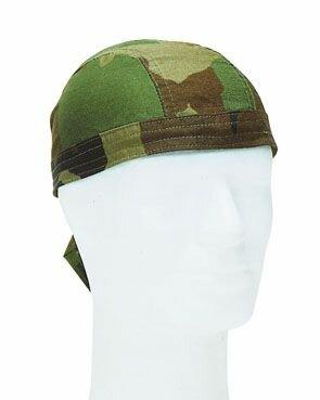 Bandana Kopftuch Biker Headwrap Woodland Camo
