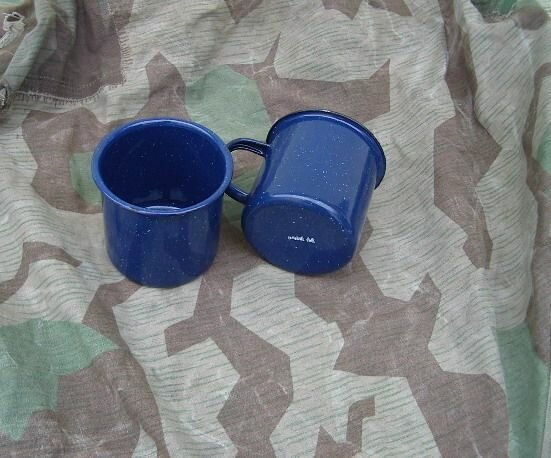2 emaile cups mtd44 Wehrmacht
