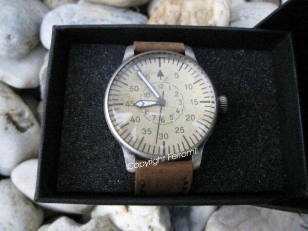 Luftwaffe Fliegeruhr ME109 Vintage Quartz Uhr