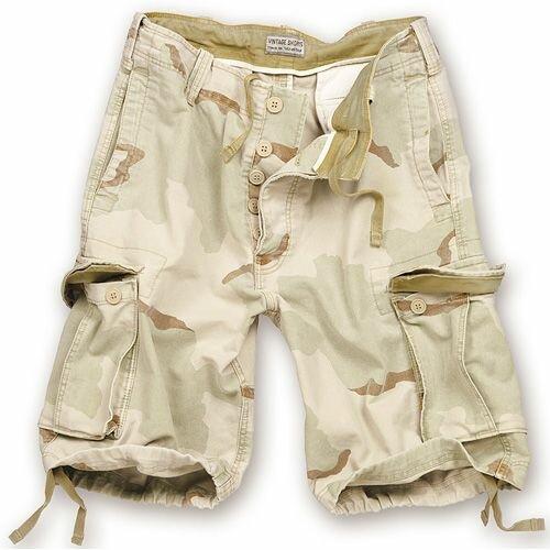 US Army M65 Desert Shorts Prewashed Paratrooper