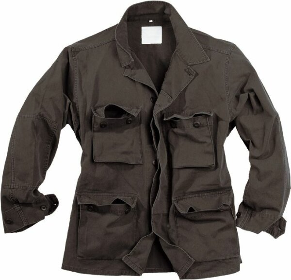 "US BDU Fieldjacket ""light Jacket"" Black Size S-XXL"