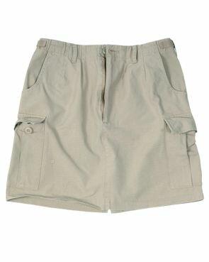 US Army Rock Women Skirt BDU T/C Khaki / Beige