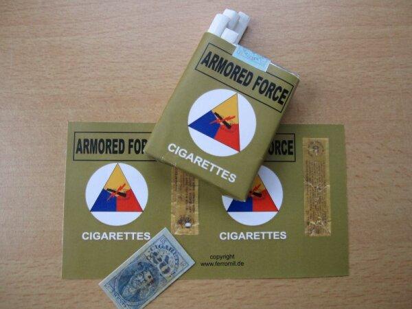 Armored Force 1944 Cigarette Sticker