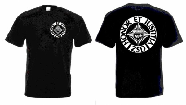ZSD T-Shirt Schwarze Sheriffs Security Bodyguard Kult!!