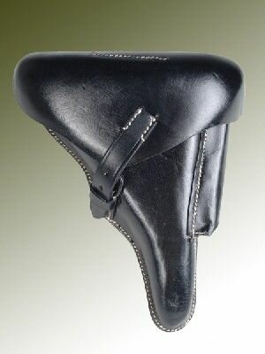 WH P08 Pistol Holster Hard Shell Top Repro