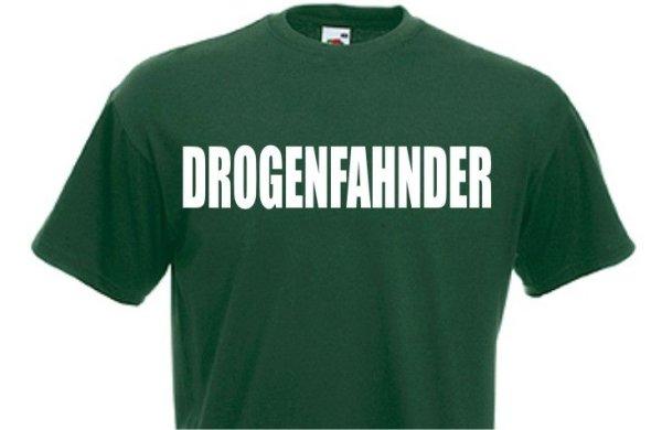 "T-Shirt ""Drug Searcher"" Drogenfahnder Size S-XXL"