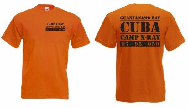 Guantanamo X-Ray Camp Cuba US Army T-Shirt Gr S-3XL