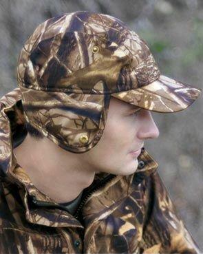Wild Tree Jagd Cap Real Camo