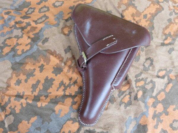P08 Hard Shell Pistol Holster Brown