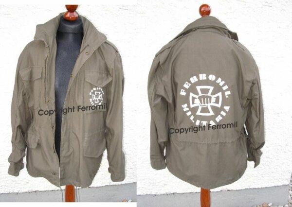 Ferromil Germany US Army Fieldjacket M65 oliv Size S-3XL
