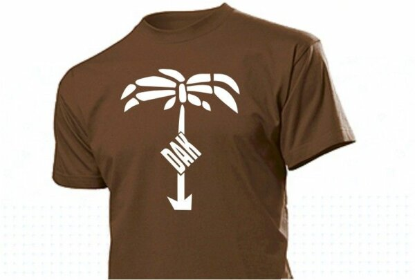 DAK with Palmtree Africacorps T-Shirt