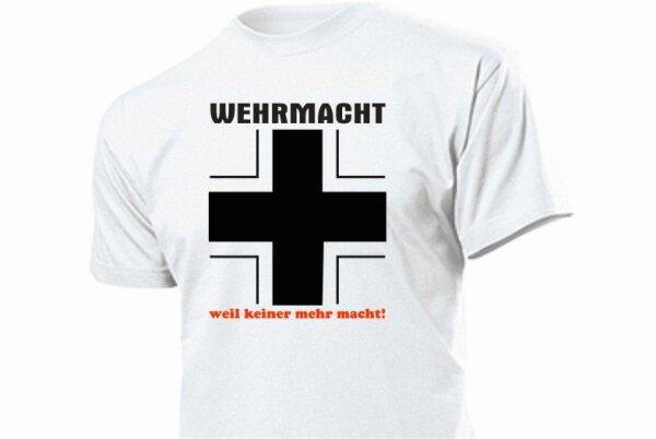 Wehrmacht Fun Shirt with Cross