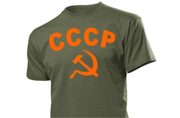 CCCP with Russia Insignia T-Shirt