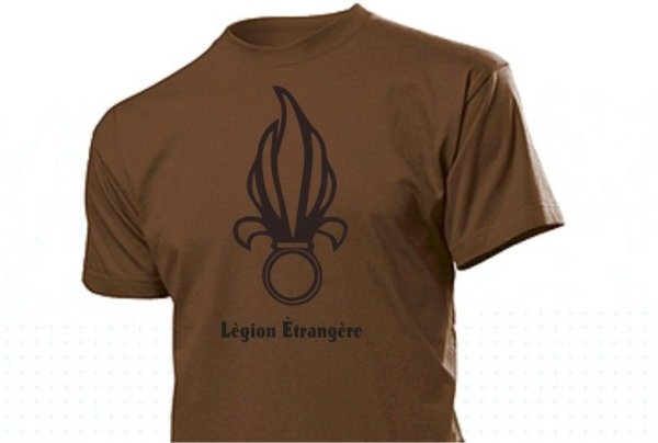T-Shirt French Foreign Legion with Symbol