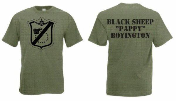 US Marines Blacksheep Pappy Boyington T-Shirt