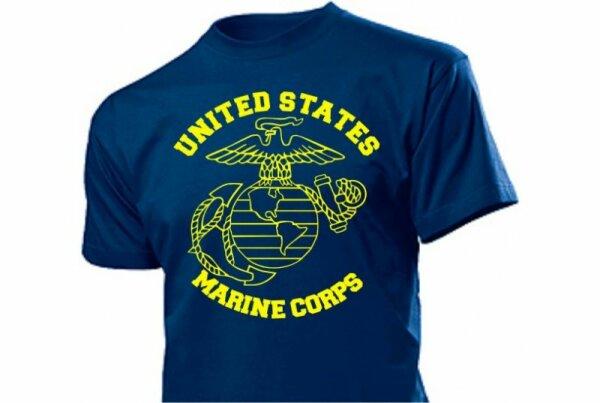 USMC US Marines US Navy Insignia T-Shirt
