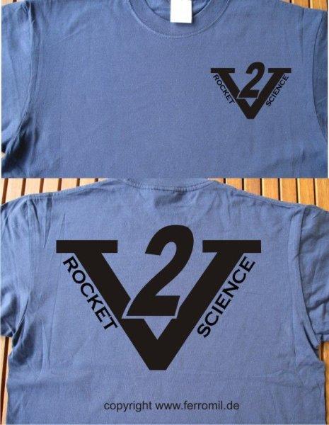 V2 Rocket Science T-Shirt #1